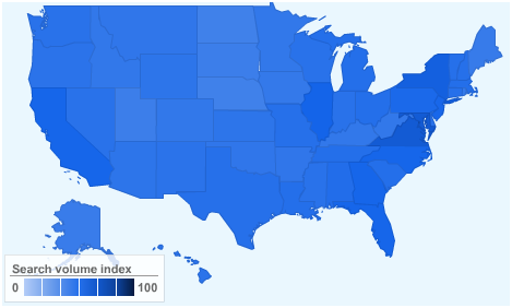 "... of heat maps for Google searches for ""godly"" and ""watch free porn""?"