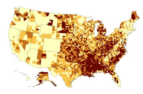 Incidence of obesity (http://apps.nccd.cdc.gov/DDT_STRS2/NationalDiabetesPrevalenceEstimates.aspx)